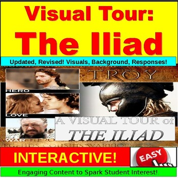 The Iliad and Trojan War Visual Tour PowerPoint Lesson