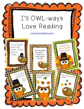November Owls Love Reading
