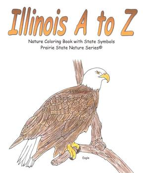 Illinois A to Z Nature & Environment Coloring Book (pdf file)