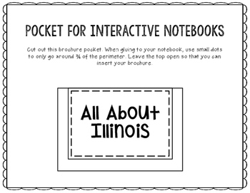 Illinois - State Research Project - Interactive Notebook - Mini Book