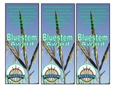 Illinois Bluestem Award bookmarks
