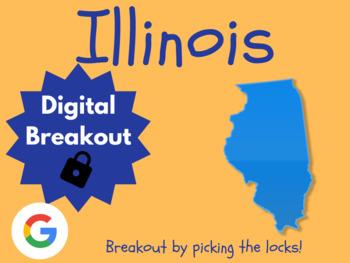 Illinois - Digital Breakout! (Escape Room, Scavenger Hunt, Brain Break)