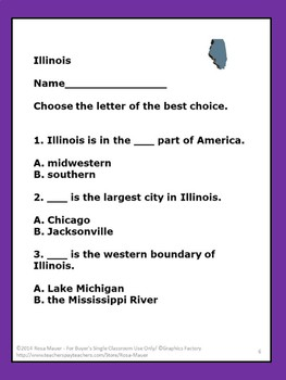 Illinois Hello USA