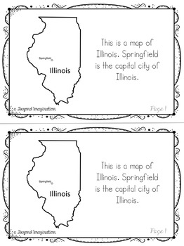 Illinois | State Study | 56 Pages for Differentiated Learning + Bonus Pages