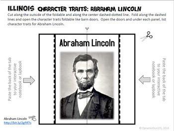 Illinois Interactive Notebook Activities Student Workbook with Test Prep