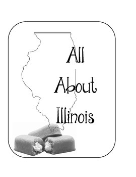 Illinois Lapbook/Interactive Notebook.  US State History and Geography