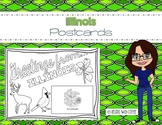 Illinois Postcard - Classroom Postcard Exchange