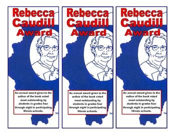 Illinois Rebecca Caudill Award Bookmark