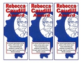 Illinois Rebecca Caudill Award Bookmark