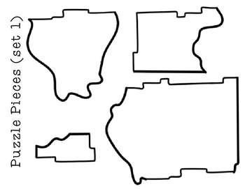 Illinois Regions- A cut and paste activity