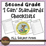 "Illinois - Second Grade Standards Checklists for All Subjects  - ""I Can"""
