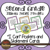 Illinois Social Studies Standards - Second Grade Posters a