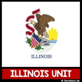 Illinois Social Studies Unit - (No Prep)