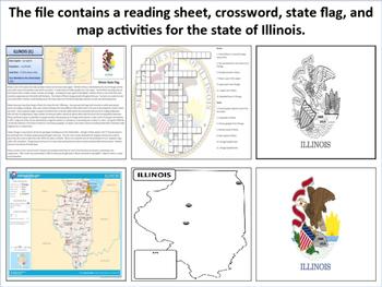 Illinois - State Activity Set