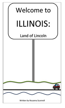 Illinois State Booklets - Three Reading Levels - State Report Resource
