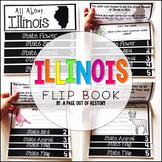 Illinois State Flipbook Interactive Activity for Social Studies