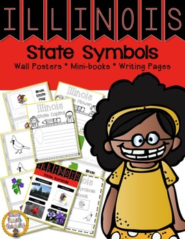 Illinois State Symbols Notebook