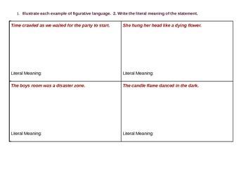 Illlustrating Figurative Language