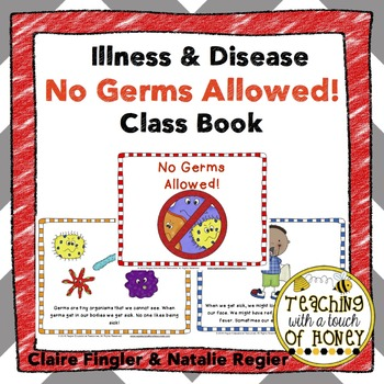 Illness and Disease No Germs Allowed Class Book