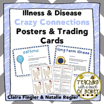 Healthy Habits: Preventing Illness and Disease Crazy Connections Posters