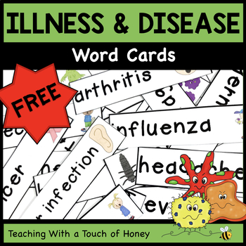 Health and Wellness - Preventing Illness and Disease FREEBIE