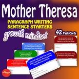 Luminaries-NO PREP-Growth Mindset - Paragraph Writing - MOTHER THERESA