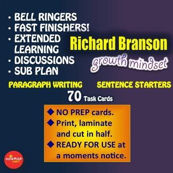 Luminaries-NO PREP-Growth Mindset - Paragraph Writing - RICHARD BRANSON