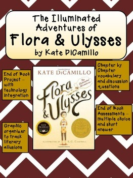 Flora and Ulysses Novel Guide with Technology and Test