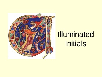 Illuminated Initials Presentation