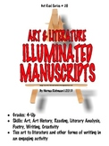 Illuminated Manuscripts Project-Based Art with Poetry & Literature Connection