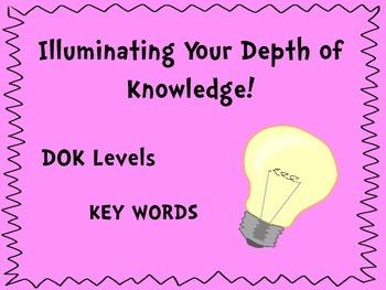 Illuminating Your Depth of Knowledge: DOK Levels