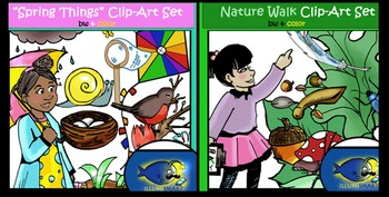 Illumismart's BRILLIANT SECULAR SEASONS CLIP-ART BUNDLE! 350 pieces!