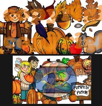 Illumismart's BRILLIANT Fall-o-ween Bundle: 104 pc. Clip-Art...AMAZING VALUE!!