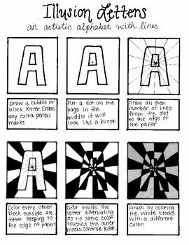 Illusion Letters