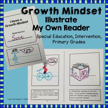 Special Education Reading: Illustrate My Own Reader Bundle #2