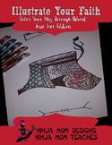 Illustrate Your Faith- Color Through Advent Jesse Tree Edition- No Prep