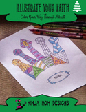 Illustrate Your Faith through Advent- A Coloring Book for