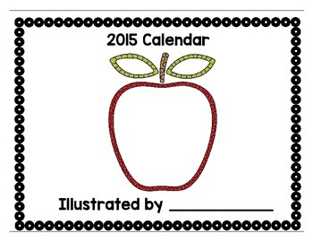 Illustrate Your Own Calendar: A Holiday Gift For Parents