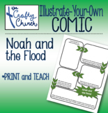Illustrate-Your-Own Comic: Noah and the Flood