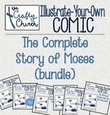 Illustrate-Your-Own Comic: The Complete Story of Moses (Bundle)
