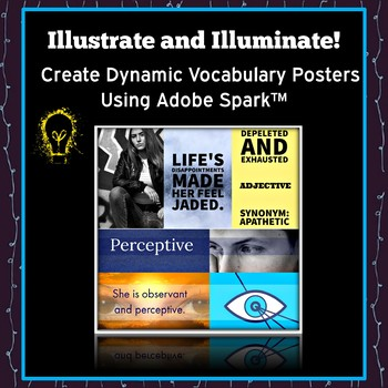 ELA Vocabulary Project and Vocabulary Activity: Illustrate and Illuminate!