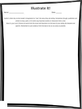 Illustrate it! - Novel Analysis Worksheet