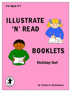 Illustrate 'n' Read Booklets - Holiday Set