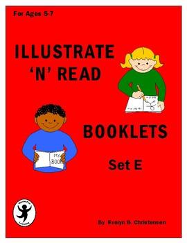 Illustrate 'n' Read Booklets Set E