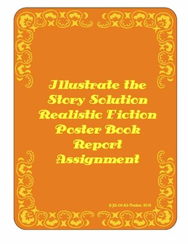 Illustrate the Story Solution Book Report: Realistic Fiction, grades 3-5