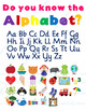 Illustrated Alphabet Beginning Sounds Poster - 4 color versions {Decor}