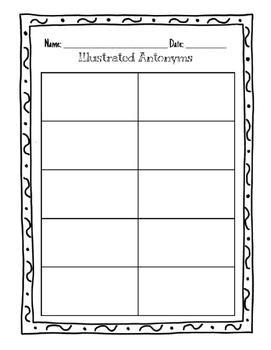 Illustrated Antonyms