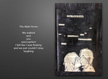 Illustrated Blackout Poetry / Found Poetry