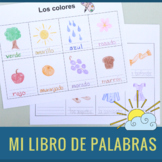 Illustrated Book of Words in Spanish/ Mi libro de palabras en español