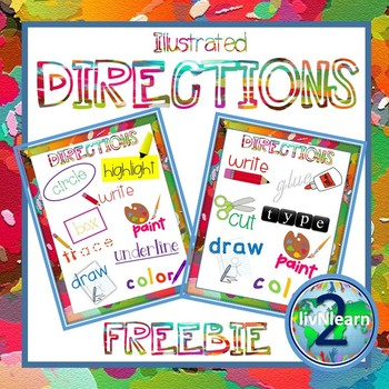 Illustrated Directions FREEBIE!